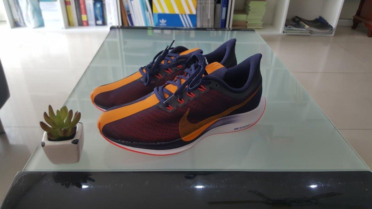 6fb9c4039b778 Nike Zoom Pegasus 35 Turbo ( Red Orange ) - YouTube