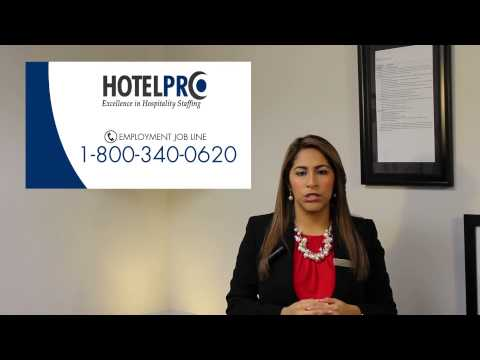 Employment Opportunities with HotelPro