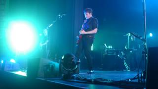 """Jimmy Eat World, """"Pass the Baby"""", Live at The Enmore Theatre, Sydney on 18 January 2017"""