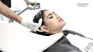 Step by Step Straightening - Crystallizing Straight Shiseido Professional