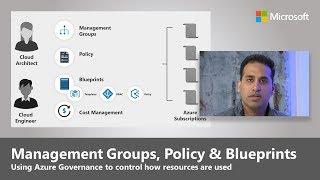 Management Groups, Policy, aฑd Blueprints in Azure Governance