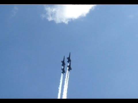 Blue Angels | KC Air Show | View from the  Patio at Trezo Mare