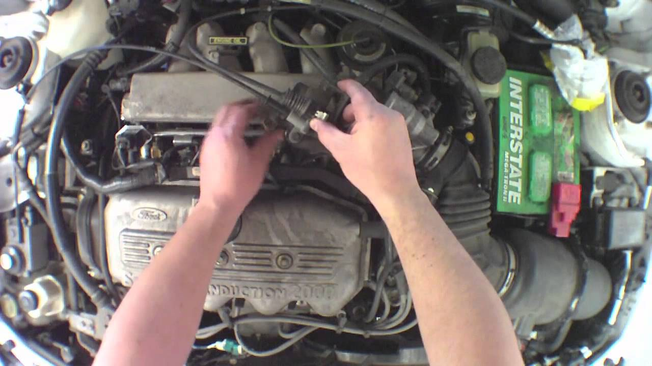small resolution of changing fuel injectors 1999 ford escort