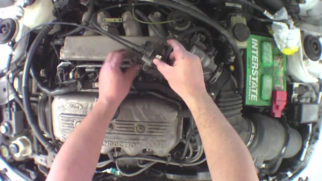 changing fuel injectors 1999 ford escort [ 1280 x 720 Pixel ]