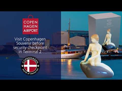 Copenhagen Souvenir in the Airport