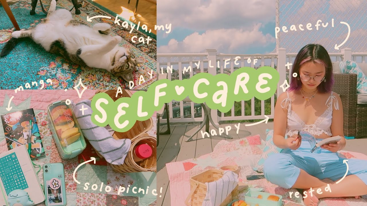 Download a day in my life ✨ self-care, picnics, & doing things i love