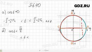 № 6.40- Алгебра 10-11 класс Мордкович