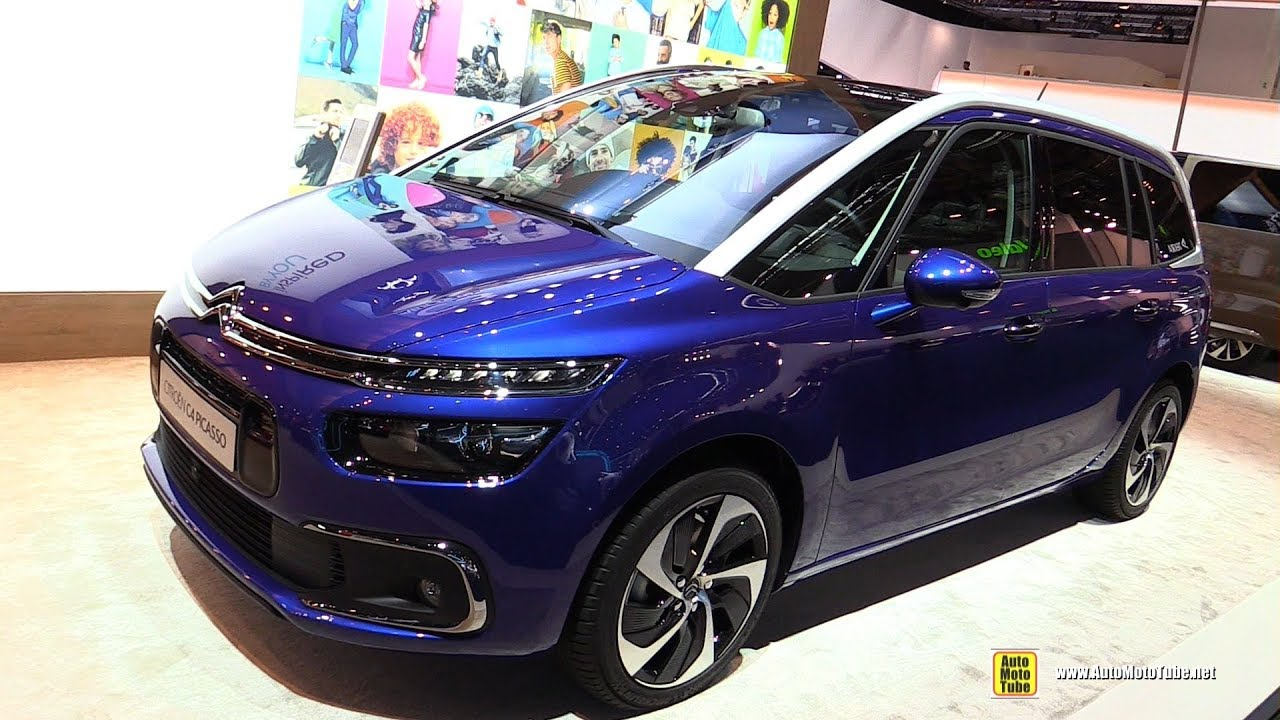 2018 citroen c4 picasso exterior walkaround 2017 frankfurt auto show youtube. Black Bedroom Furniture Sets. Home Design Ideas