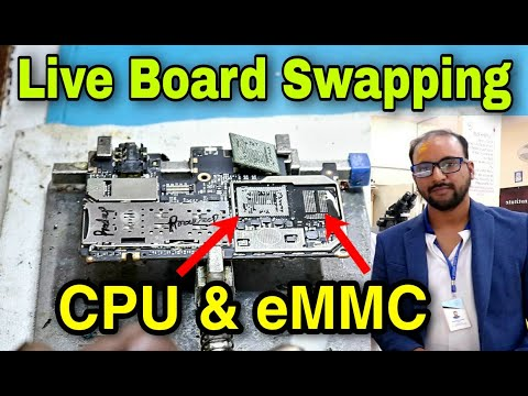 Best eMMC Repair Training Institute In India, Live Bored Swapping, Asia Telecom #eMMC #emmc