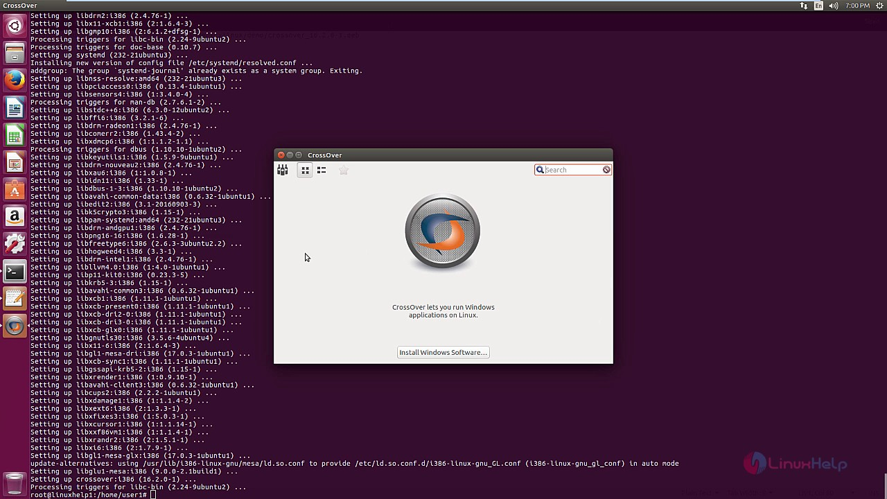 Crossover ubuntu free.
