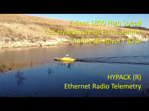 Oceanscience Z Boat 1800 Dual Frequency Dam Hydrographic Surveying