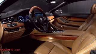 BMW M6 V12 Interior HD BMW Pininfarina Gran Lusso Coupé One Off Concept Commercial Carjam TV HD 2014