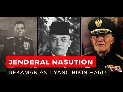 rekaman pidato asli jenderal nasution korban selamat peristiwa g30s pki