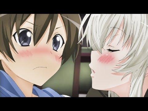 Top 10 Romance/School Anime with Cool Male Lead [HD]
