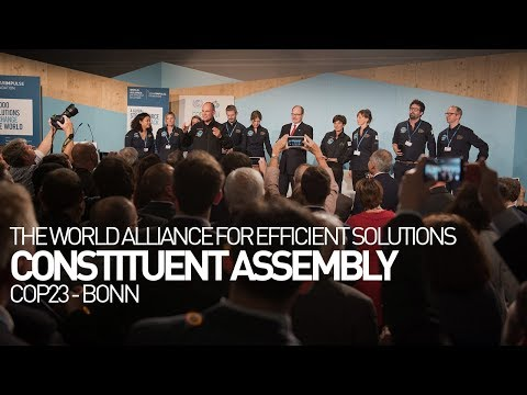 Constituent Assembly - Bonn Climate Change Conference - The World Alliance for Efficient Solutions