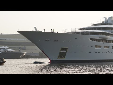 Float In - Biggest Yacht Of The World - OMAR Project - DILBAR