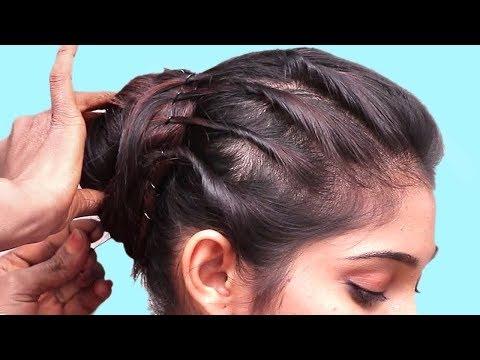Repeat Beautiful Hairstyle Short Hair School Girls Easy