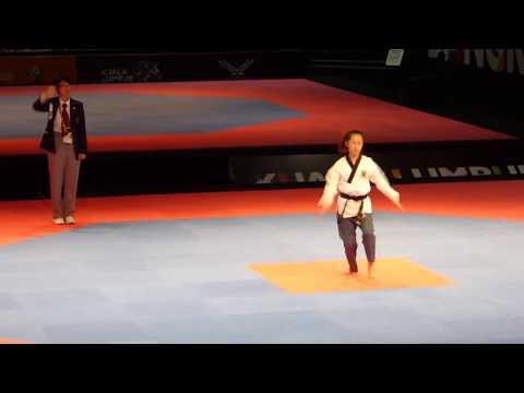 2017 SEA Games Poomsae - Female Individual - Singapore 2
