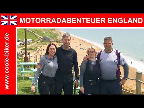 Motorradabenteuer England 2019 - Von Nord Nach Süd - Eine Reisereportage - HD