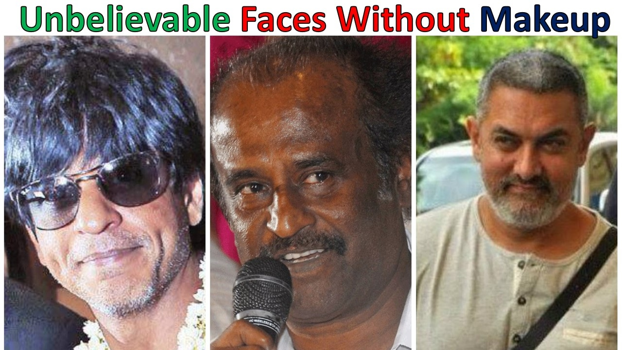 top 10 unbelievable faces of bollywood actor without makeup - youtube
