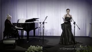 """VI Sympozjon w Mazurkasie -J.Reczeniedi-A. Dvořák-""""Když mne stará matka..."""" op. 55 nr 4"""