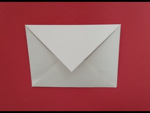 How to make an envelope with origami paper