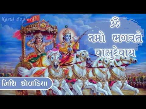 Om Namo Bhagavate Vasudevay | Full Song | Nidhi Dholakiya | Gujarati Bhakti Song | Vishnu Song Dhun
