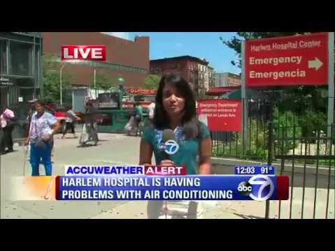 No Air Conditioning in Harlem Hospital