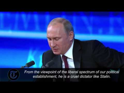 Putin: What's the difference between Cromwell and Stalin?