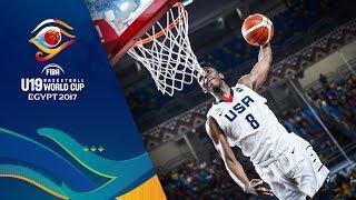 Top 5 Group   Phase - FIBA U19 Basketball World Cup thumbnail