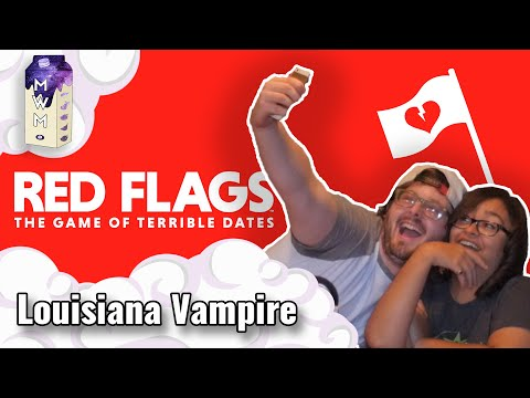 Louisiana Vampire! - A Starry Night In w/Red Flags (Card Game)