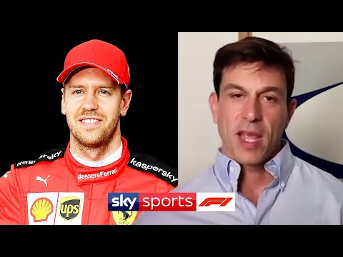 "Toto Wolff Confirms Mercedes Will ""monitor"" Sebastian Vettel Since He Is Leaving Ferrari 