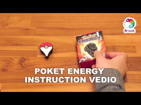 [Brook Gaming] Pocket Energy - instruction video, The rechargeable battery for Pokemon Go Plus