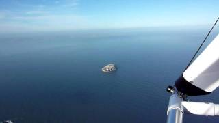 Microlight Flight Over Bass Rock GT450