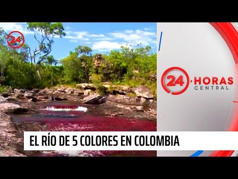 Diario de viaje: El río de 5 colores en Colombia