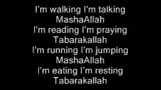 MashaAllah Tabarakallah w lyrics.wmv