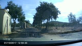 Horcajo de los Montes. Entrada Camping el Mirador de Cabañeros
