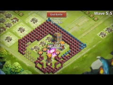 Castle Clash Setting Rank 1 Record For HBM S-2 Quick Win Cool Footage