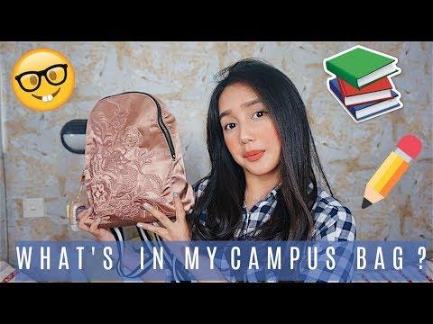 WHAT'S IN MY CAMPUS BAG? + TIPS CARA BELAJAR YG EFEKTIF!!