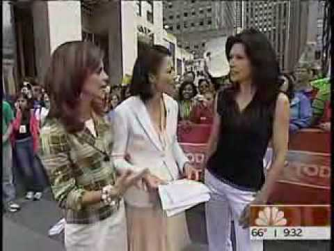 Karina Lombard on The Today Show