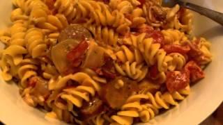 Daily Food Vlog #56 Bacon Tomato Pasta