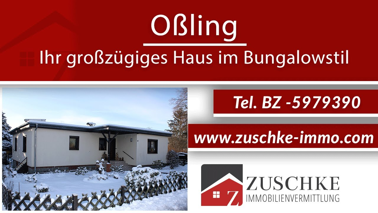 Oßling – Ihr großzügiges Haus im Bungalowstil