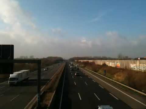 Autobahn A46 bei Kreuz Hilden.MOV