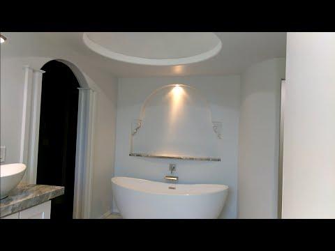 Bathroom remodeling design with freestanding tub