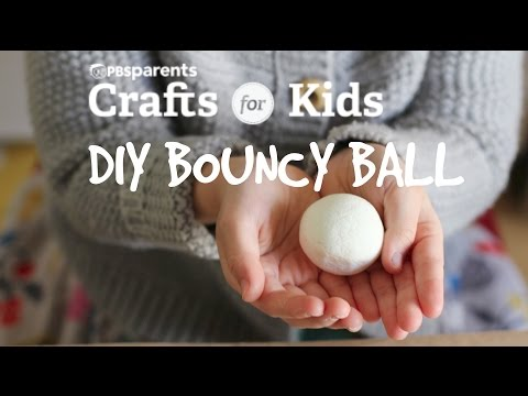 DIY Bouncy Ball | Crafts for Kids | PBS Parents