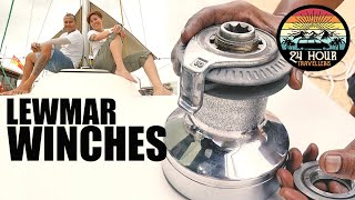 HOW WE SERVICED LEWMAR WINCHES | Sailboat Refit Project Malaysia [S6E5]