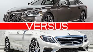 2018 Lexus LS vs Mercedes S-Class