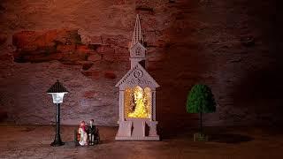 교회 성당 신랑 신부 자동 워터볼 스노우볼