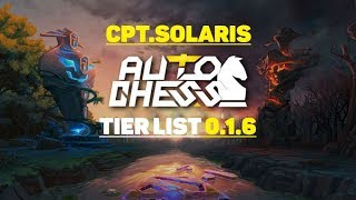 Tier list auto chess
