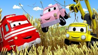 Troy der Zug - Die kleinen Autos SPIELEN VERSTECKEN ! - Lastwagen Zeichentrickfilme für Kinder 🚓 🚒